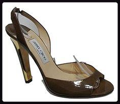 Jimmy Choo  Kandy Kan, Damen Pumps Braun Patent Latte (Light Brown) 41.5 (8 UK) - Damen pumps (*Partner-Link)