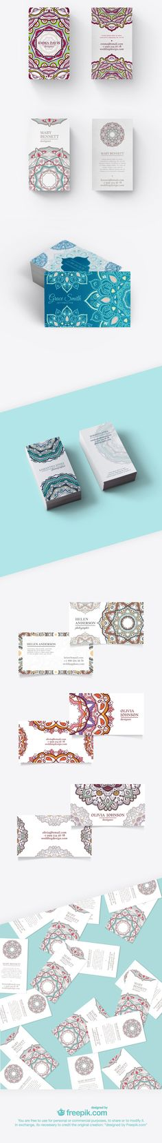 Download Free Mandala Business Cards (exclusive)