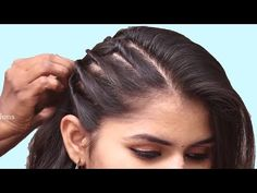 Unseen Party hairstyle 2019 for girls Hair Style Girl hairstyles Easy Hairstyles for long Quick Braided Hairstyles, Easy Hairstyles For Long Hair, Work Hairstyles, Fashion Hairstyles, Easy Hairstyle For Party, Party Hairstyles For Girls, Girls School Hairstyles, Wedding Hairstyles, Marshmello Head