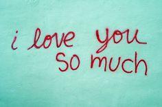 I Love You So Much Red Text Mural SOCO South Congress Avenue Austin Texas DSC_5502