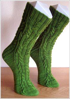 Ravelry: suessehexe's Rattlesnake Creek Socks