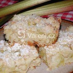 Nejlepší rebarborový koláč recept - Vareni.cz