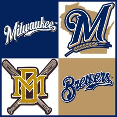 Milwaukee Brewers American Sports, Milwaukee Brewers, Cavaliers Logo, Sports Logo, Nhl, Team Logo
