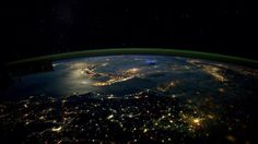 Mankind has had an undeniably huge impact on the Earth's crust (Picture: Nasa) Nasa, Far Future, Earth Photos, Epoch, Space Station, Space Exploration, Planet Earth, Earth 2, Stargazing