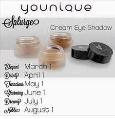 YAY, more colors on the way. Favorite new Younique product.shimmery goodness for you lids! 3d Mascara, 3d Fiber Lashes, 3d Fiber Lash Mascara, Splurge Cream Shadow Younique, Younique Splurge, All Natural Makeup, Cream Eyeshadow, Makeup Essentials, It Goes On