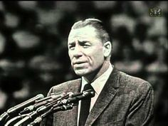 George Beverly Shea - Old Rugged Cross ( 1957 ) - memories of watching the Billy Graham Crusade with my family
