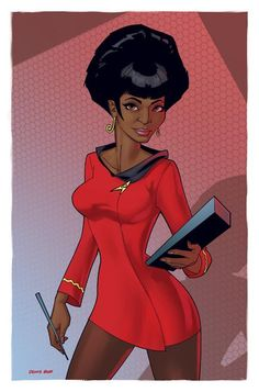 Posted by SF Series and Movies  Uhura