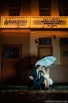 Ashlee & David { The West End Ballroom }- Portland, Oregon Wedding Photography Blog   Powers Photography Studios