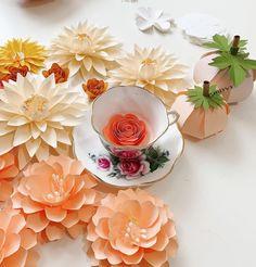 Paper Flowers, Handmade, Hand Made, Arm Work