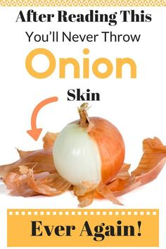 In today's article we will reveal the amazing health benefits of onion peels. After reading this article, you will never throw away onion peels. Although, onion peels aren't edible, but they offer other benefits. Health Remedies, Home Remedies, Natural Remedies, Herbal Remedies, Allergy Remedies, Be Natural, Natural Health, Onion Benefits Health, Health And Wellness