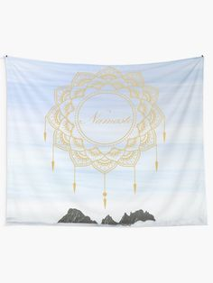 """Namaste dream catcher "" Tapestry by azimaplace 