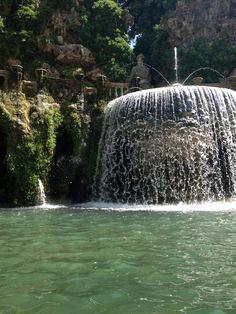 Villa d'Este, Ovato-Brunnen