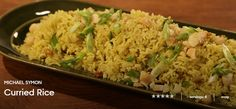 MICHAEL SYMON Curried Rice