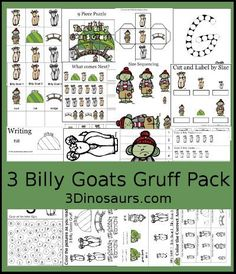 facts about goats for preschoolers 3 billy goats gruff printables pictures of the billy 138