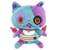 New! DX Yokai Watch Jiba Zombie Nyan Plush Doll Bandai Japan Limited F/S #Bandai