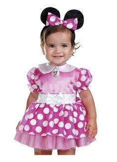 Cute Infant Disney Pink Mini Mouse Halloween Costume (12-18 mths)...cute