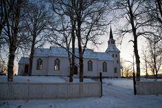 Namdalseid church. From Flickr. By estenvik