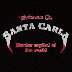 Lost Boys T Shirt Santa Carla