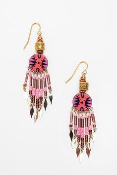 love these tribal earrings
