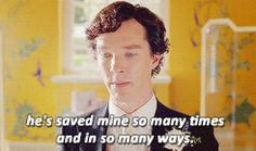 """{""""I will solve your murder, but it takes John Watson to save your life."""" (gifset)} - *cries again*"""