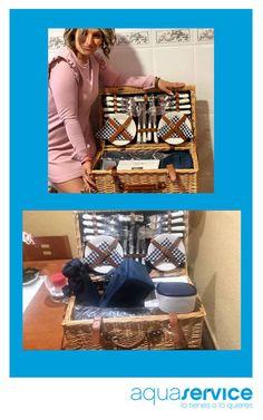 ¡Más sonrisas Aquaservice! Esther se ha retratado con la cesta de pícnic que consiguió en nuestro sorteo y Juan nos manda la foto del regalo en su hogar. ¡Disfrutadlas mucho! Gracias por las fotos 📸 Y muy pronto... ¡nuevas sorpresas en nuestras redes! #aquaservice #sorteosaquaservice #sonrisasaquaservice #regalosaquaservice Shoe Rack, Picnic, Prize Draw, Hampers, Organize, Gift, Thanks, Events, Home