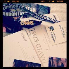 London fashion week, you are invited...