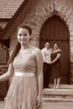 Family Quincenera Photo