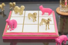 Endlessly Creative | #darbysmart  Make this with a box at hobby lobby. Spray paint figurines to put inside the box.