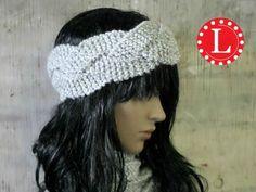 Loom Knit Braided Headband