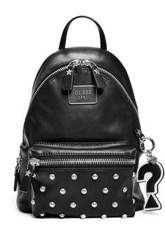 GUESS Cool School Leeza Backpack #fashion #bag #guess