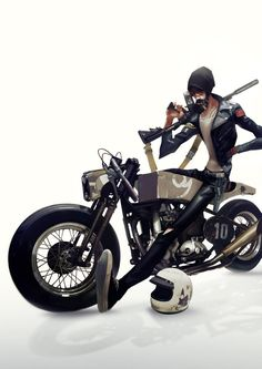 CAFE RACER by Auguy on deviantART