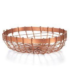 Southern Living Oval Bread Basket