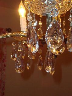 Vintage Crystal Chandeliers
