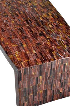 Red Tigers Eye, Cocktail Tables, Cool Designs, Mosaic, Cocktails, Studio, Cool Stuff, Wood, Interior