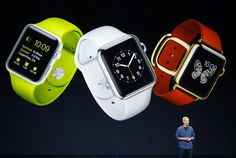 Apple finally unveils its iWatch