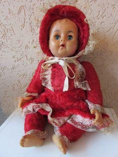 Boneca Dorminhoca Anos 50/60 Rara - R$ 250,00 no MercadoLivre
