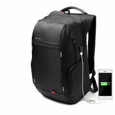 bddf721f891f Mini Backpack Men Anti Theft Bagpack Women Inch USB Charge Laptop Computer  Back Pack for Teenager Girls Travel Bag hello fr.
