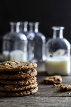 The Best Chocolate Chip Cookies (Loui&bearnaisen) Yummy Treats, Yummy Food, Danish Food, Best Chocolate Chip Cookie, Sweet Tarts, Recipes From Heaven, Afternoon Snacks, Cookie Recipes, Frosting