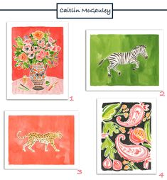 Caitlin McGauley prints all under $100