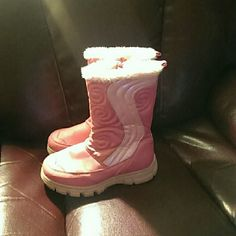 Toddler winter boot Used but still in good condition Shoes Over the Knee Boots