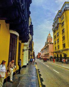 Calle Conde de Superunda, Lima - Perú
