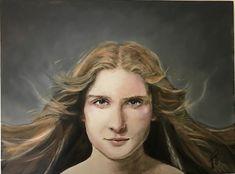 Caterina Giglio, Mixed Media, A Portrait of Ella,