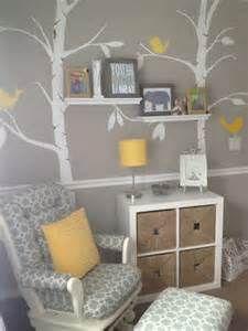 grey and yellow nursery | Stuff for Kids