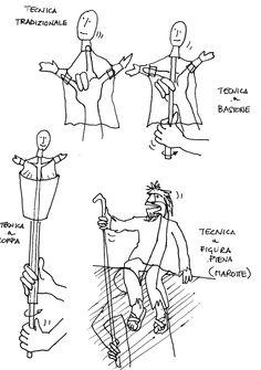 Puppet glove sketch