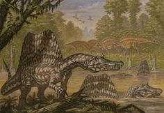 Spinosaurus aegyptiacus by ABelov2014
