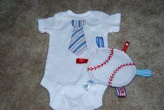 Nap Time Crafts: Baby Boy Baseball Set