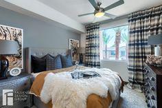 Designed by Faulkner Design Group #bedroom #luxury #modelunit #faulknerdesigngroup #interiordesign #multifamily #apartmentdesign #apartmentinspiration #apartment #roomdesign #roomdecor