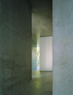 Interior of the Appartment building on Forsterstrasse by Christian Kerez.