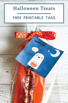 Download these Cute Ghost Halloween Printable Tags from Everyday Party Magazine are perfect for Halloween treats for ghosts and goblins of all ages! #Halloween #FreePrintable #HalloweenTags #Ghost