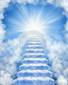 Photo about Ascending stairway to heaven through clouds. Image of birds, clouds, gate - 13547389 Images Ciel, Background For Photography, Background Images, Heaven Pictures, Heaven Images, Heaven Tattoos, Blue Sky Clouds, Heaven's Gate, Prophetic Art